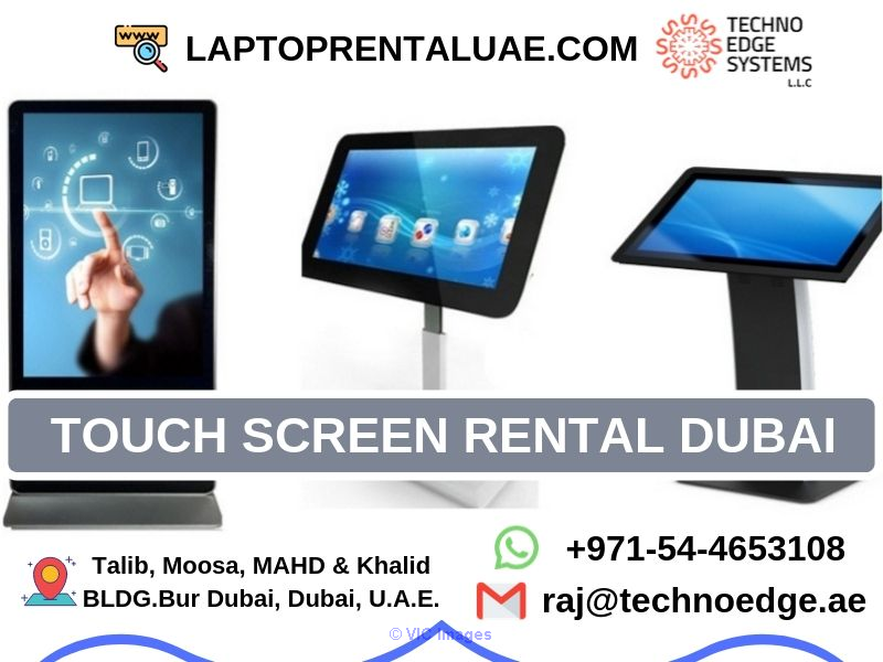 Interactive Touch Screen Rental Dubai | Techno Edge Systems LLC