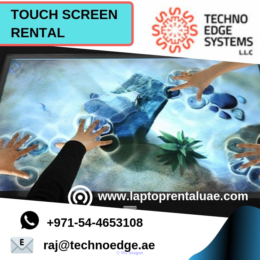 Touch Screen Rental Dubai - Huge Selection Of Touchscreen Models
